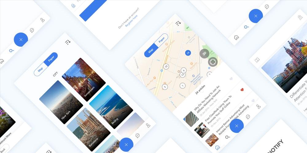 Free Real Estate App UI Kit