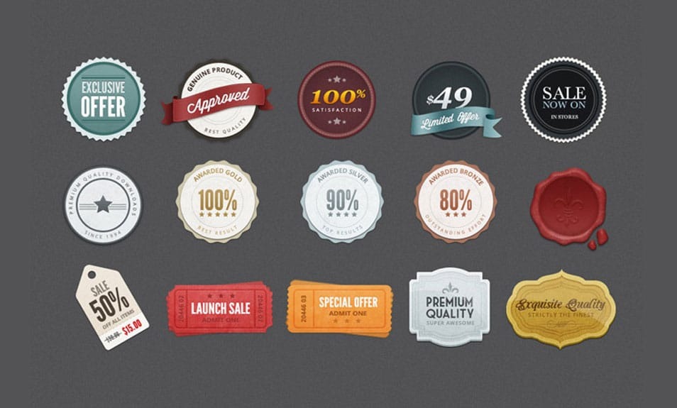 Free Web Badges & Elements