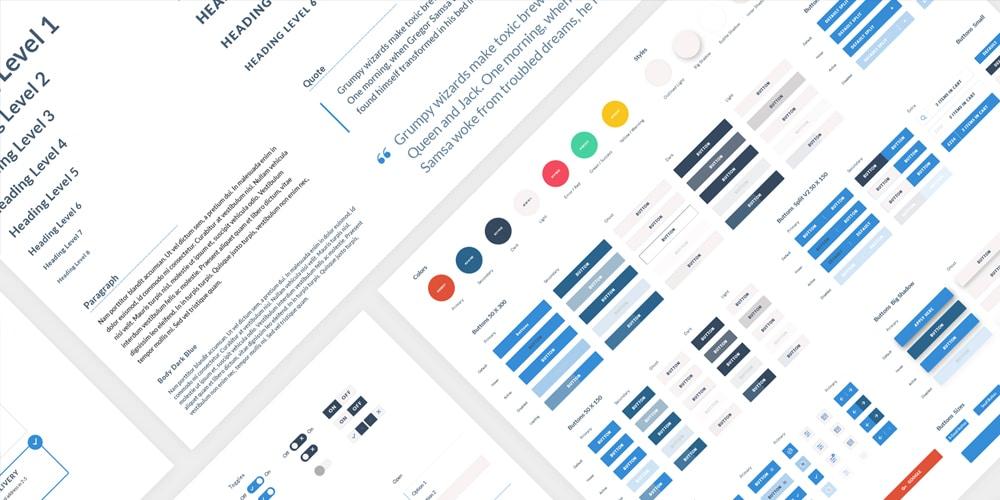 Free Web UI Kit for Sketch