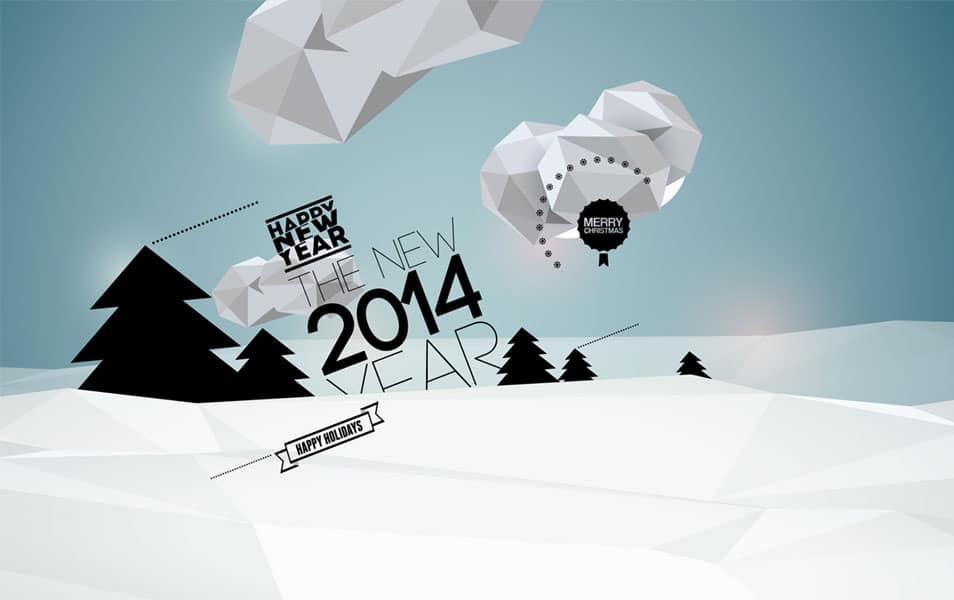 Happy New Year Wallpaper 2014
