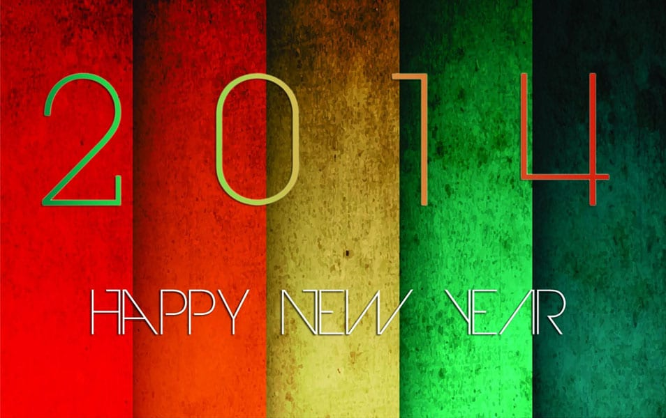 Happy new year 2014 wallpaper HD
