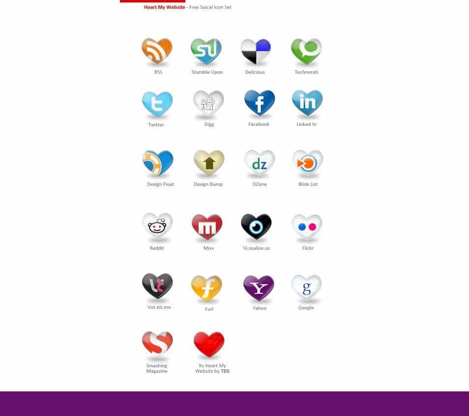 Heart: A Free Social Icon Set