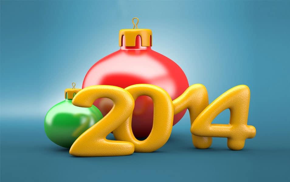Jingle Bells New Year 2014 HD Wallpaper