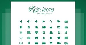 Main Icons – A set of free UI Icons – Freebie No:133