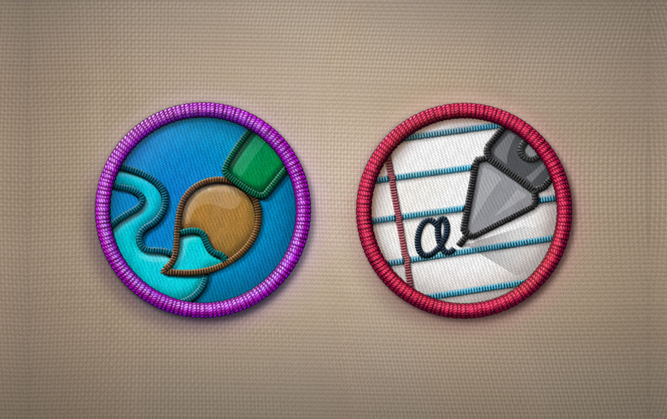 Merit Badges PSD - Part 2