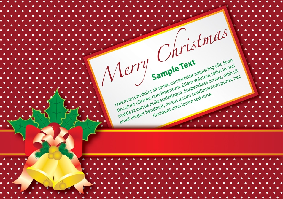 Free Christmas Greeting cards, Icons ,Decorative Elements,BackgroundsPSD, AI