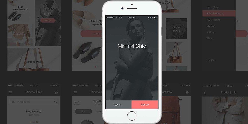 Minimal Chic UI Kit