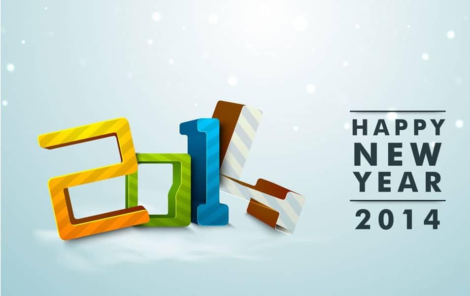 New Year 2014 Celebration HD Wallpaper