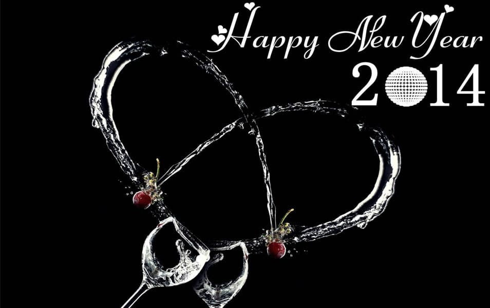 New Year 2014 Cocktail Party HD Wallpapers