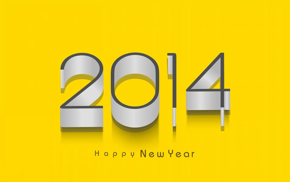 New Year 2014 HD Wallpaper for Windows 8