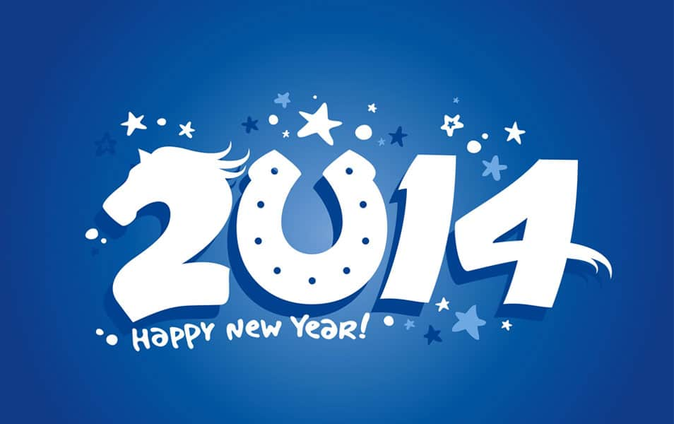New Year 2014 and Christmas Wishes