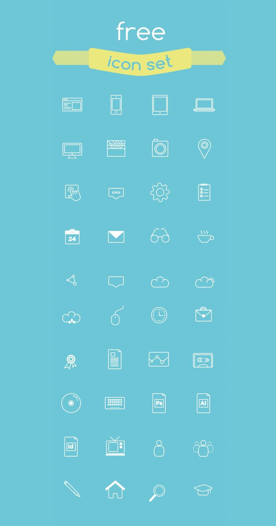 PAGE Free Icon Set