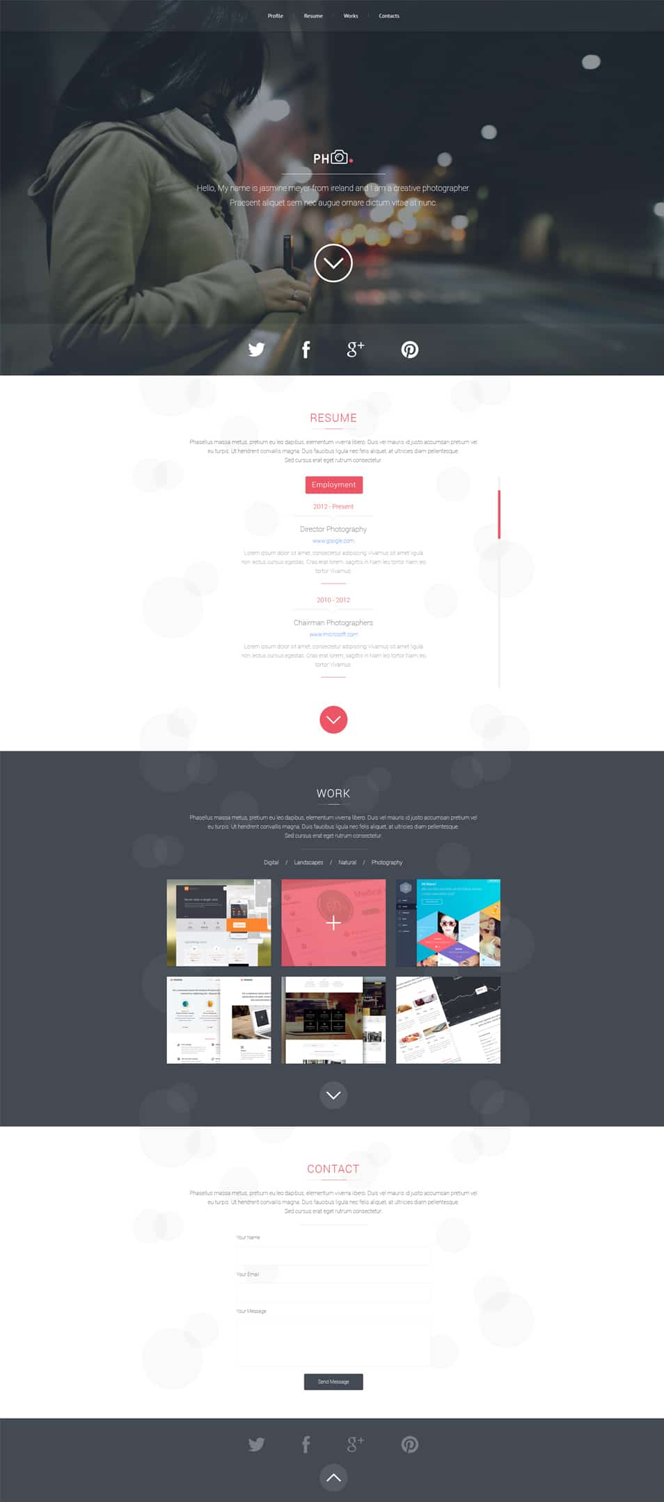 PH CV PSD Template