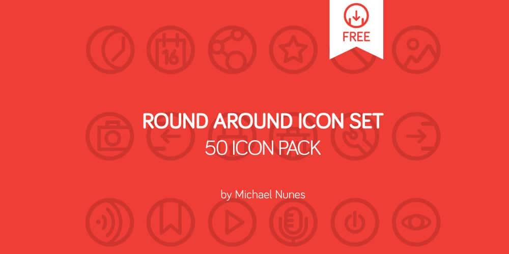 Round Around Icon Pack
