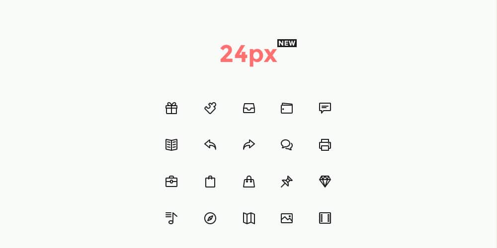 Simple Line Icons Set