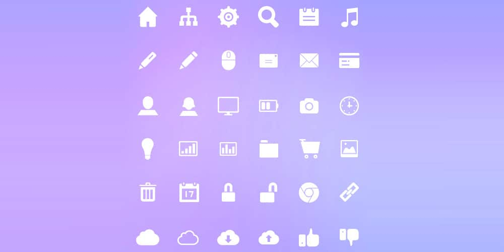 Social Media and UI Design Icons