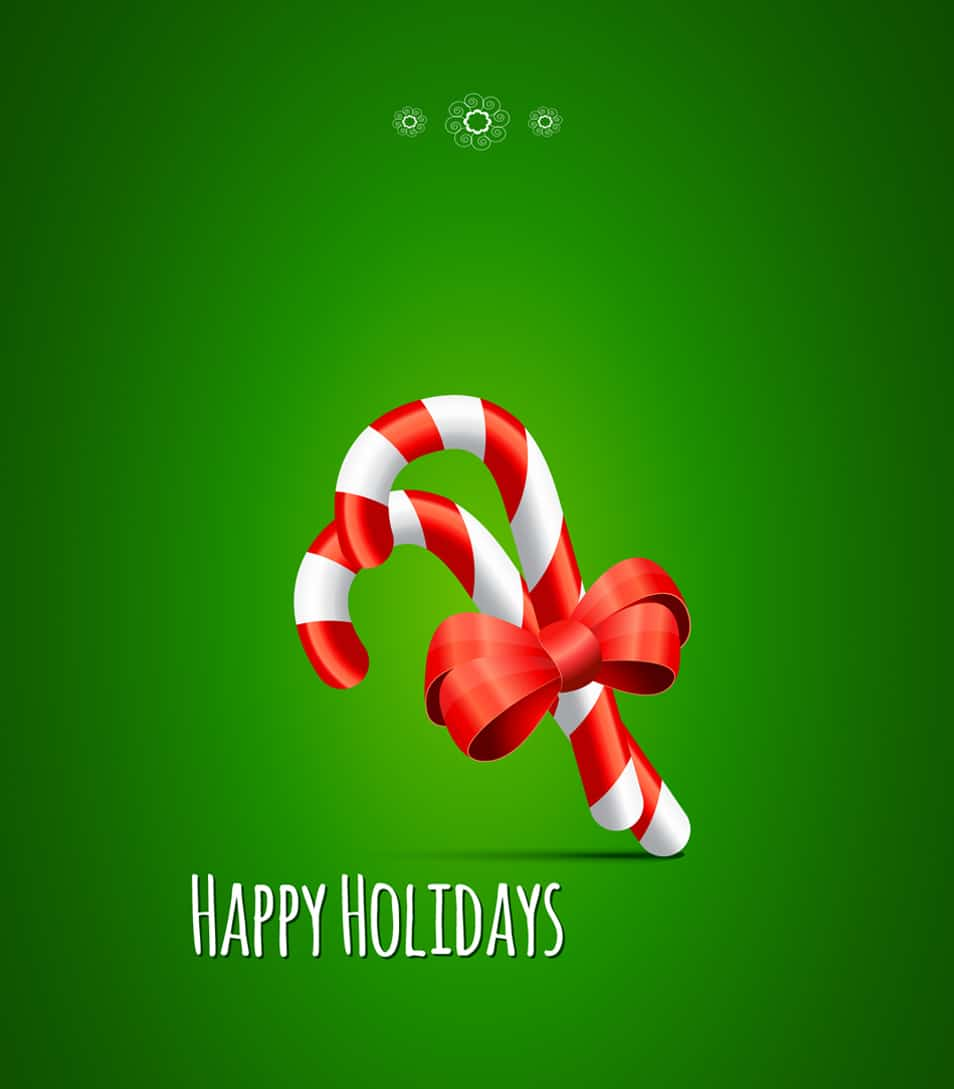 Sweet Holiday Greetings PSD