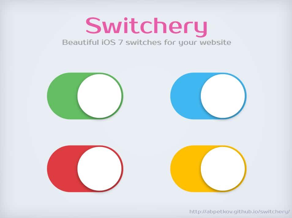 Switchery - Beautiful iOS 7 switches