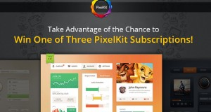 Take Advantage of the Chance to Win One of Three PixelKit Subscriptions for one year