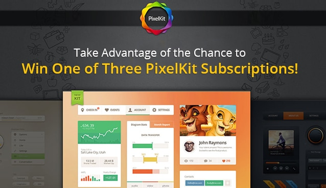 Take Advantage of the Chance to Win One of Three PixelKit Subscriptions!