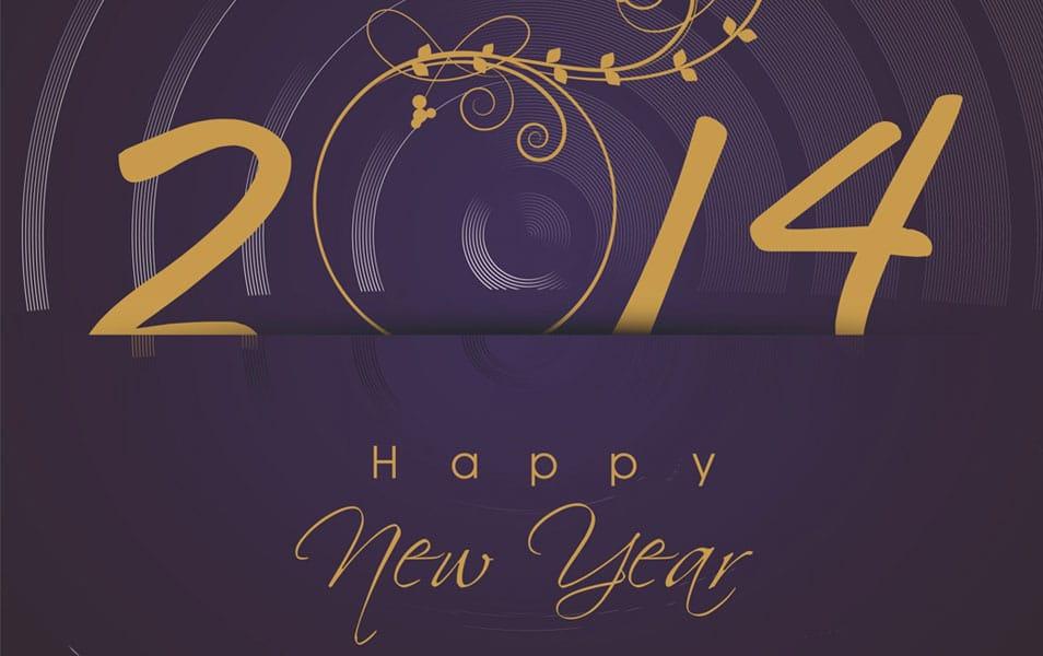 Upscale Design Happy New Year 2014