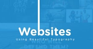 Websites Using Beautiful Typography