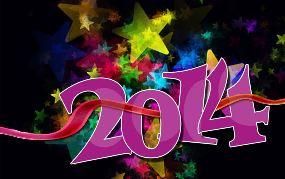 Welcome new year 2014
