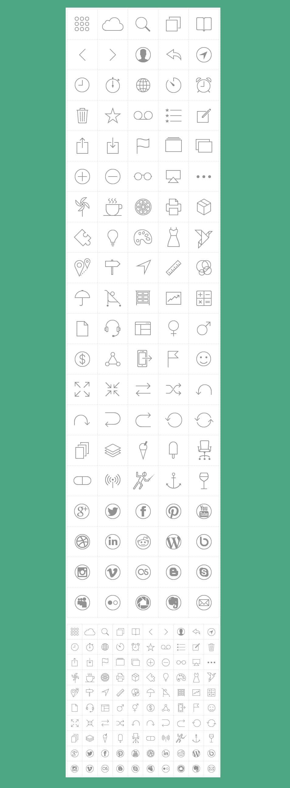 iOS 7 tab bar icons