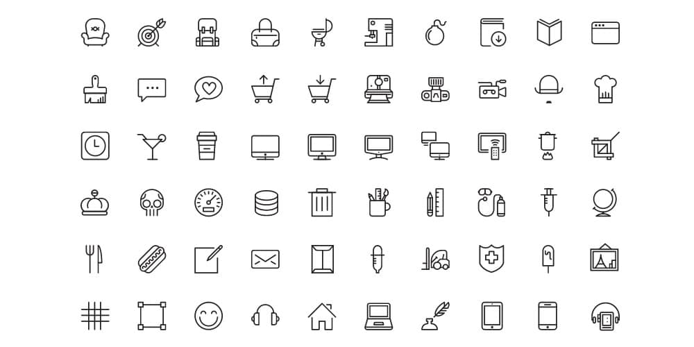 iOS7 Vector Icons