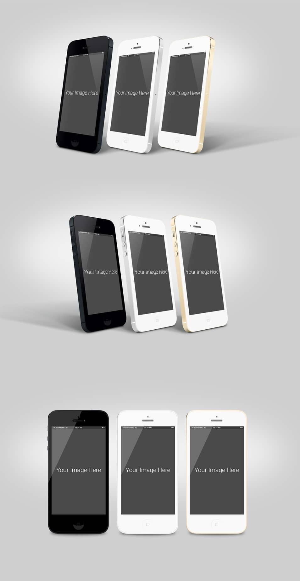 iPhone Mockup free PSDs