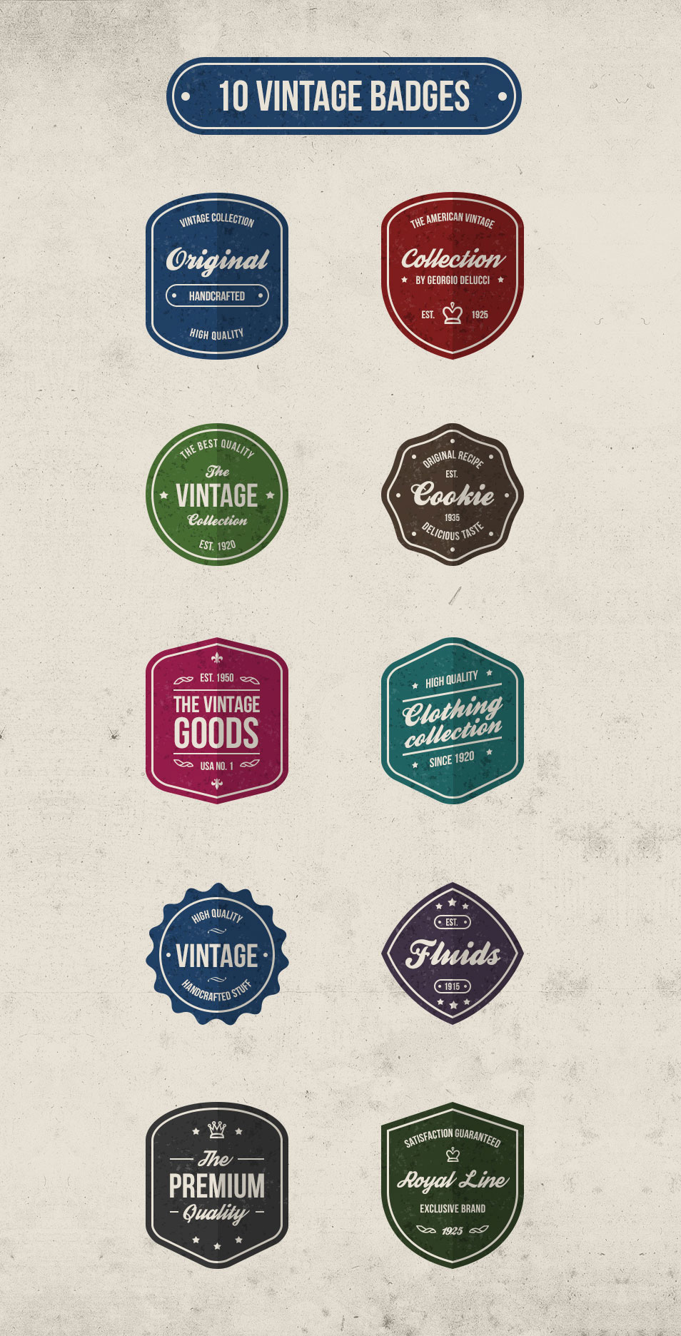 Psd Vector Eps Jpg Download: 100+ Best Free Badges Vector & PSD » CSS Author