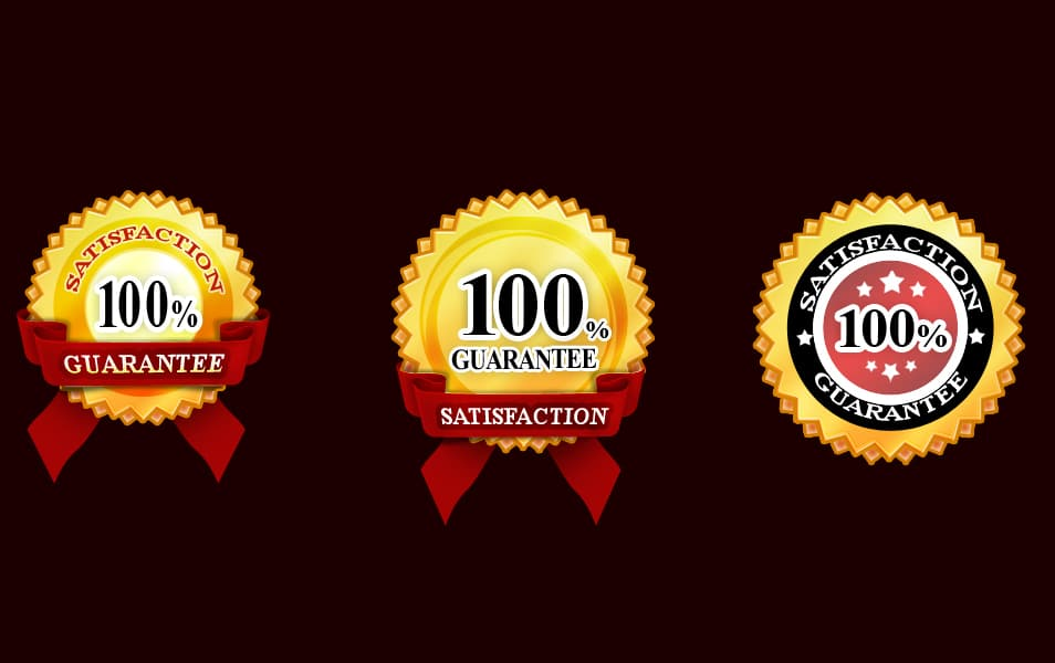 Free Guarantee Badges Psd