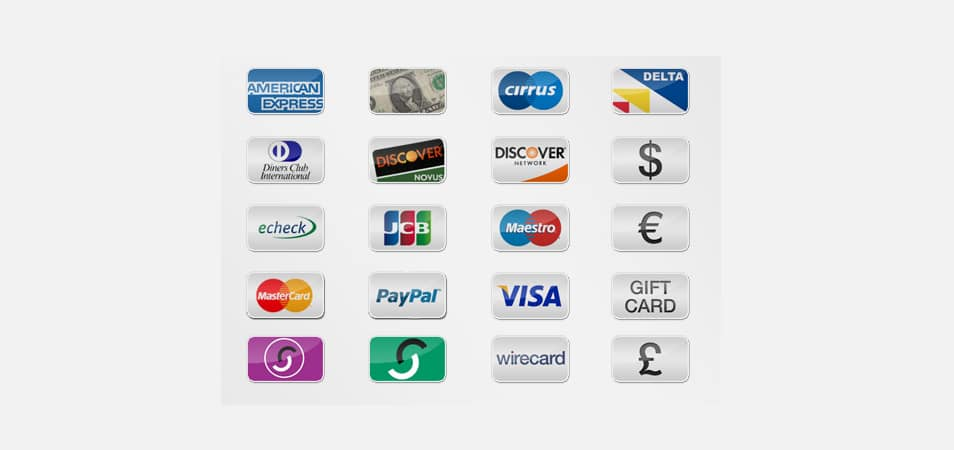 Free Payment Option Icons