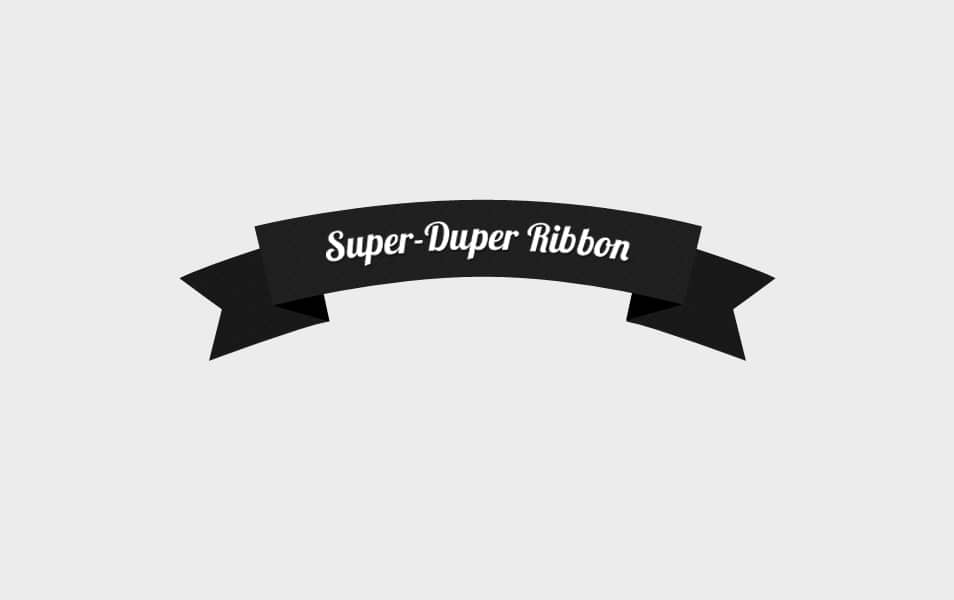 Super Duper Ribbon