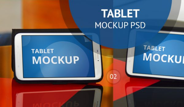 Tablet Mockup PSD - cssauthor.com