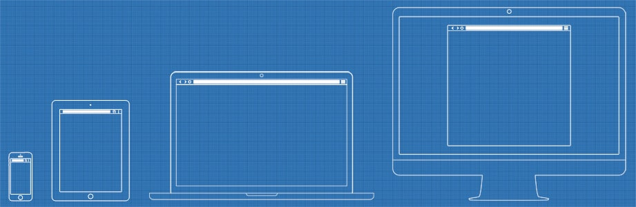 Wireframe Template PSD