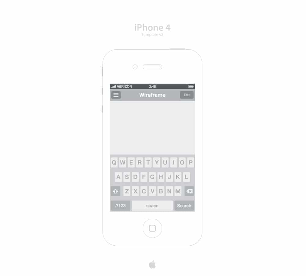 iPhone 4 Template v2