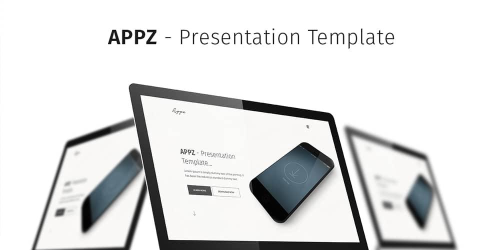 APPZ Free App Presentation Template PSD
