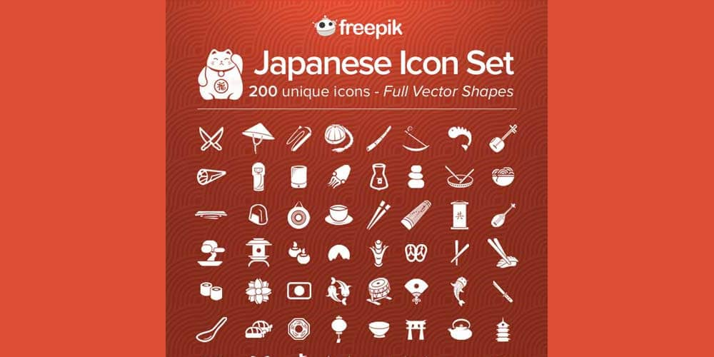 Free Japanese Icon Pack
