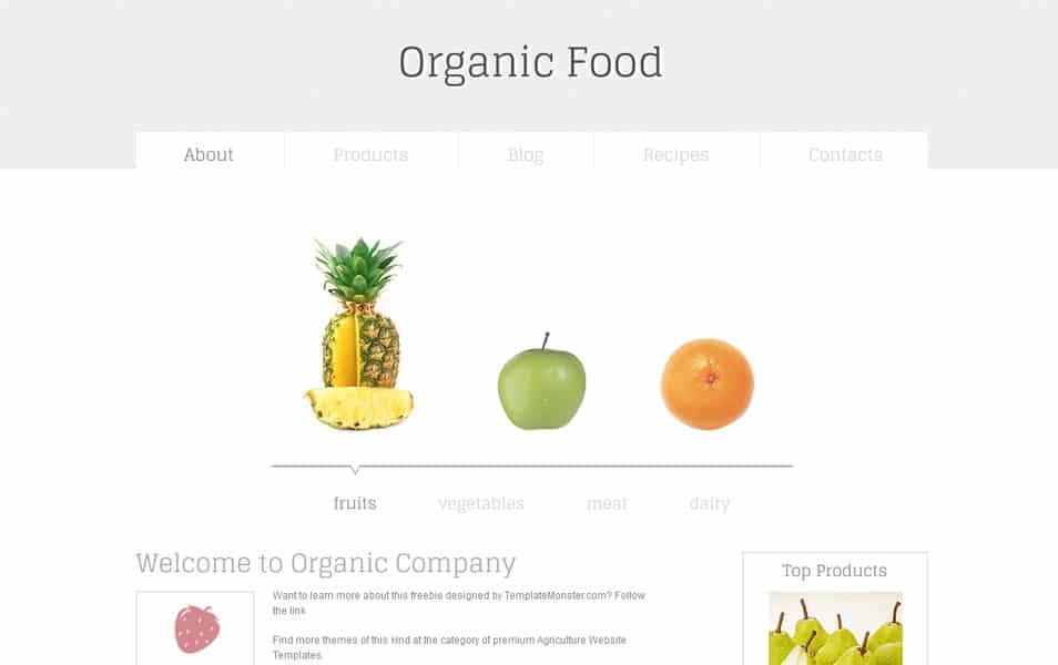 Organic Html5 Theme