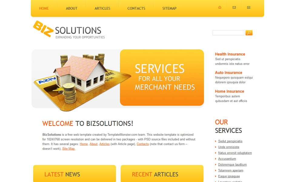 500 best free responsive html5 css3 website templates zbizsolutions is a free responsive html5 theme can be used to start a website for business and corporate pronofoot35fo Choice Image