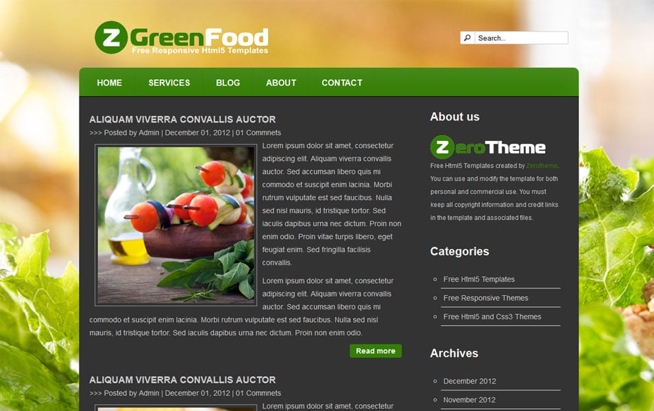 zGreenFood
