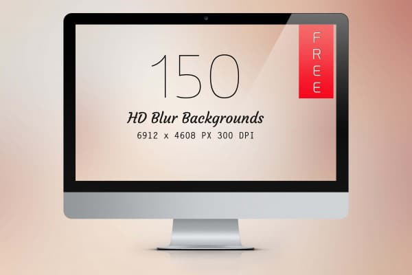 150 HD Blur Backgrounds (JPG)
