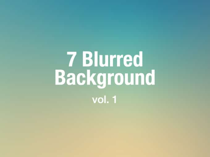 7 Blurred Background