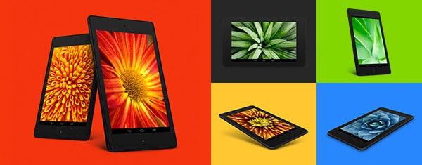 8 Free Nexus 7 PSD Mockup Templates