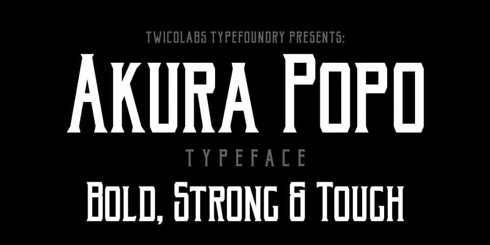 akura-popo-free-font