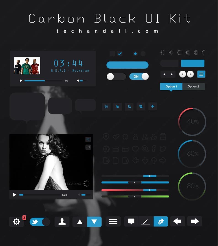 Carbon Black UI Kit