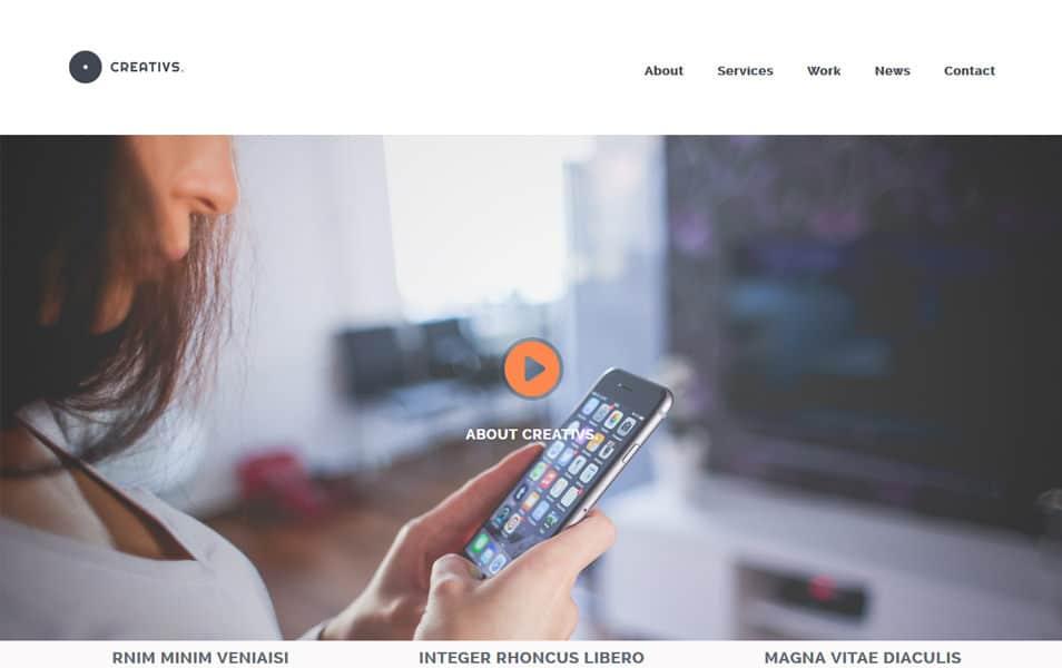 500+ Best Free Responsive HTML5 CSS3 Website Templates