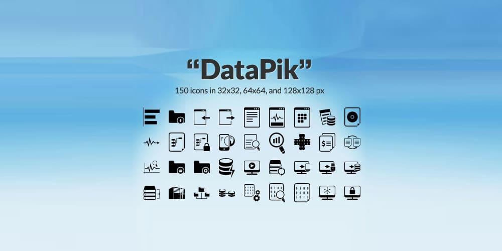 DataPik Icon Set