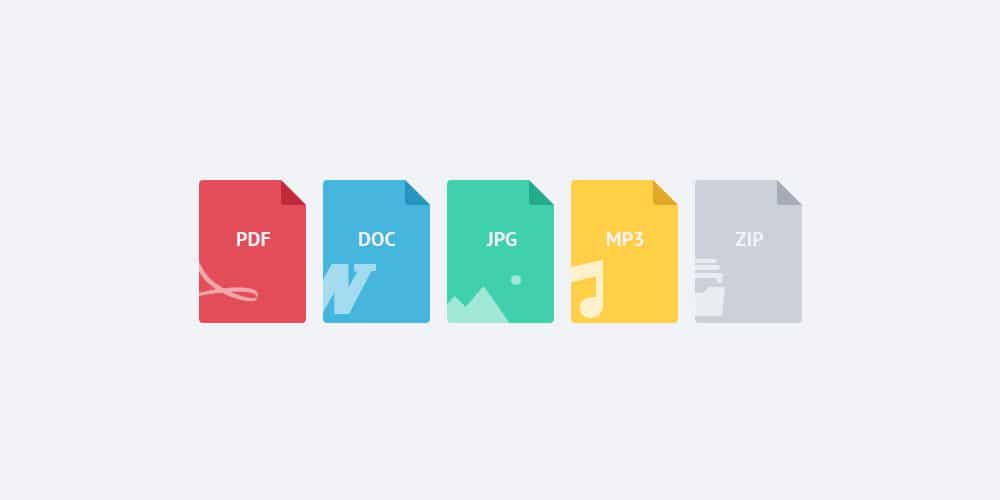 File Flat Icons